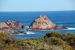 Sugar Loaf Rock south western Australia Royalty Free Stock Photos
