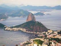 Sugar Loaf Sky car Rio de Janeiro Royalty Free Stock Photos