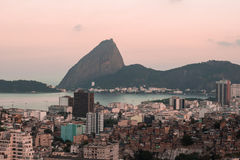 Sugar Loaf view Royalty Free Stock Photography