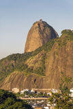 Sugar Loaf. View of Sugar Loaf from Pasmado the lookout for Botafogo Stock Image