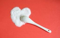 Sugar and love royalty free stock image