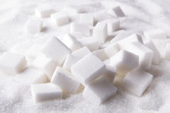 Sugar lumps Stock Photography