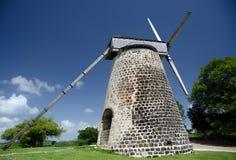 Sugar mill of Betty Hope plantation Stock Photo