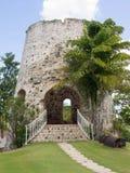 Sugar Mill com uma escadaria Fotos de Stock