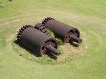 Sugar Mill Gears y maquinaria Imagen de archivo