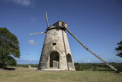Sugar mill. Image of old sugar mill in antigua and barbuda at Betty's Hope Sugar Plantation stock images