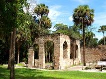Sugar Mill Ruins Imagen de archivo libre de regalías