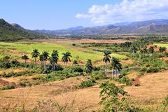 Sugar Mill Valley, Cuba Photographie stock