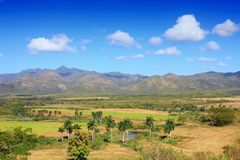 Sugar Mill Valley, Cuba. Sugar Mill Valley in Trinidad, Cuba. UNESCO World Heritage Site Royalty Free Stock Photography