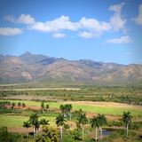 Sugar Mill Valley. Cuba - Valle de Los Ingenios (Sugar Mill Valley), UNESCO World Heritage Site Stock Images