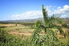 Sugar Mill Valley. In Trinidad, Cuba. UNESCO World Heritage Site Stock Photos