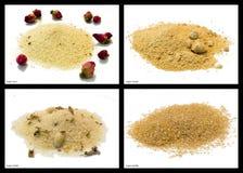 Sugar mixtures Royalty Free Stock Photos