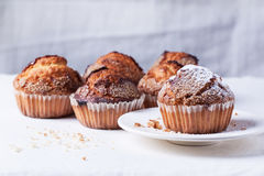 Sugar muffins Royalty Free Stock Photography