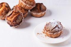 Sugar muffins Stock Image