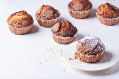 Sugar muffins Stock Photography