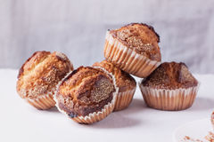 Sugar muffins Royalty Free Stock Photo