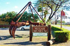 Sugar museum on maui hawaii state Royalty Free Stock Images