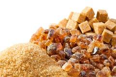 Sugar not refined,Granulated sugar, Royalty Free Stock Photos