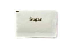 Sugar pack Stock Photos