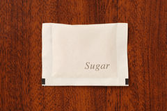 Sugar packet Stock Images