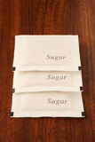 Sugar packet Stock Photos