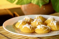Sugar palm cakes Stock Photography