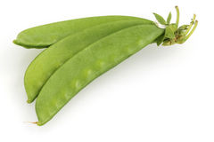 Sugar pea pods Stock Images