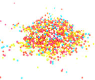 Sugar pearls Stock Photography