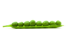 Sugar peas Stock Photos
