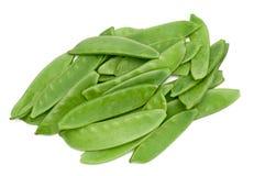 Sugar peas Stock Photography