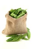 Sugar peas Royalty Free Stock Photo
