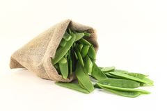 Sugar peas Stock Images