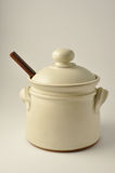 Sugar pot Royalty Free Stock Image