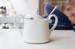 Sugar pot Royalty Free Stock Photography