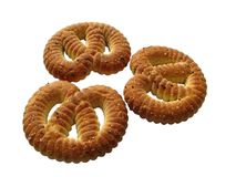 Sugar pretzels Stock Photography