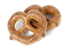 Sugar pretzels Stock Photos