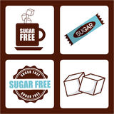 Sugar product Royalty Free Stock Images