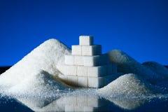 Sugar pyramid Royalty Free Stock Images