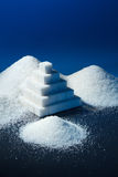 Sugar pyramid Royalty Free Stock Images