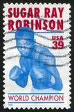 Sugar Ray Robinson Lizenzfreie Stockbilder