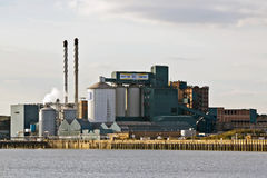 Sugar refinery Stock Images