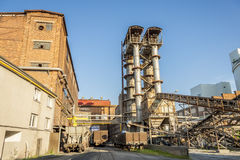 Sugar refinery - Poland. Stock Images