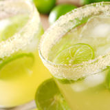 Sugar Rim of Lemonade Stock Photography