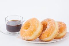 Sugar Ring Donut delizioso fotografie stock