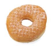 Sugar Ring Donut Isolated su un fondo bianco immagine stock