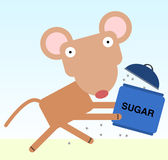 Sugar run Stock Image