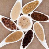 Sugar Selection lizenzfreies stockfoto