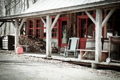 Sugar shack Royalty Free Stock Photo