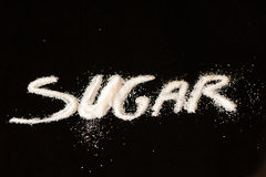 Sugar sign Royalty Free Stock Photography