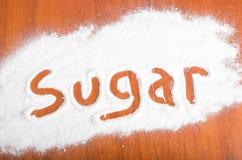 Sugar sign, Flour Artwor Stock Photography
